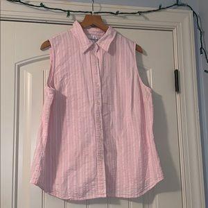 Jones New York Sport Pink Vest